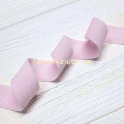 Изображение Резинка пополамка матовая, Светло-Розовый