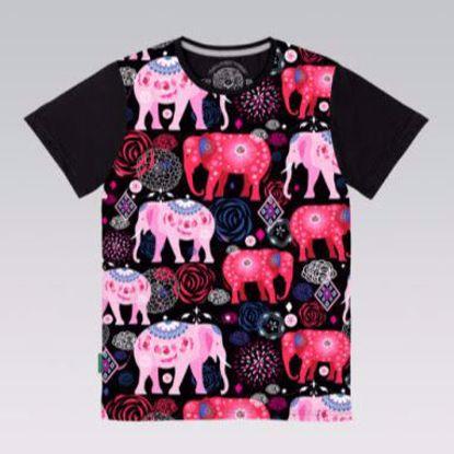 Изображение Стрейч кулир, Слоны