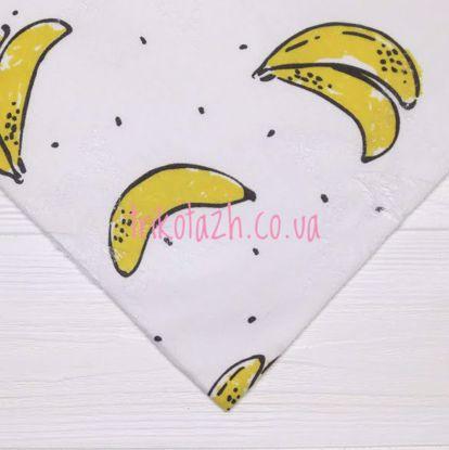 Изображение Стрейч кулир с перфорацией, Бананы
