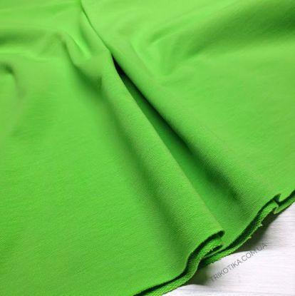 Изображение Футер 2х нитка,петля, Зеленое яблоко