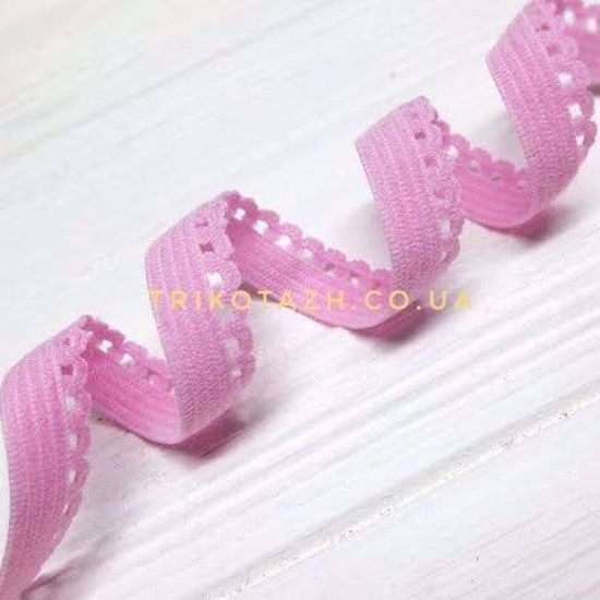 Изображение Резинка ажурная, Розовый