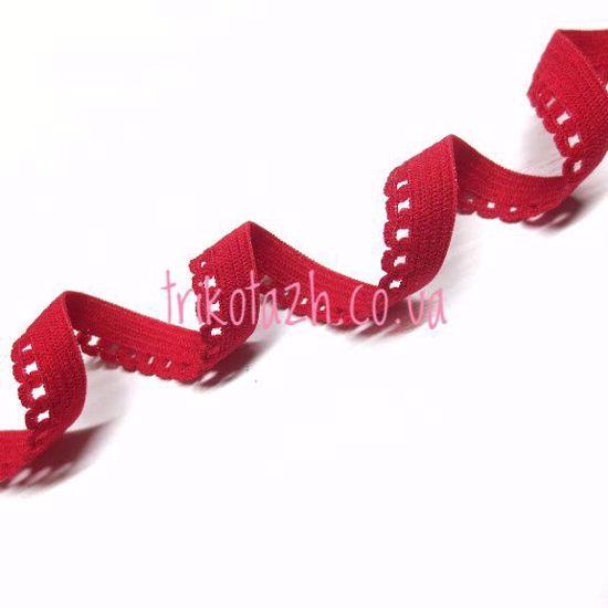 Изображение Резинка ажурная, Красный