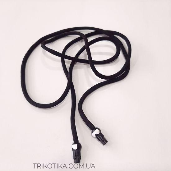 Изображение Шнур круглый 5мм, Черный