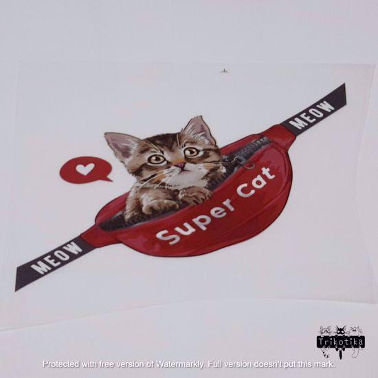 Изображение Термотрансфер, Super Cat