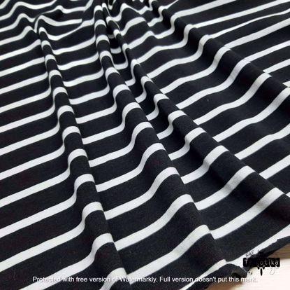 Изображение Стрейч кулир,  Полоска 0.5*1.5см, Черная